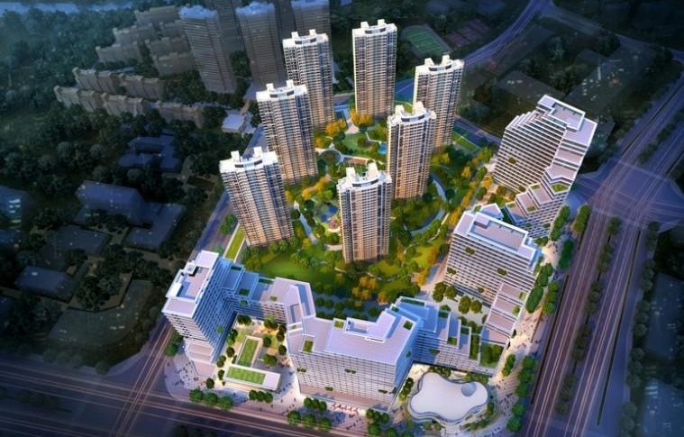 红谷瑞仕城际广场近期将加推2#高层