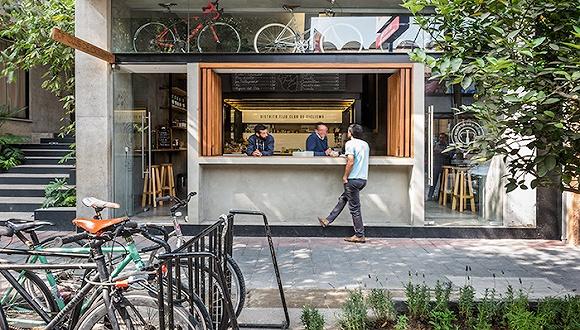 若中国也有这种自行车店兼咖啡馆该有多好