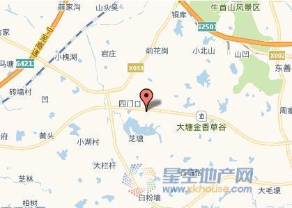 碧桂园湖光山色交通图