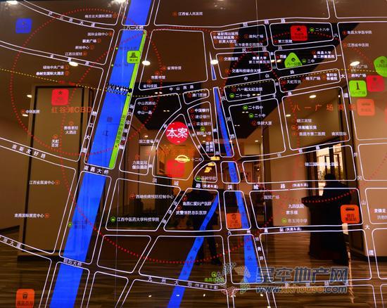 滨江明珠交通图