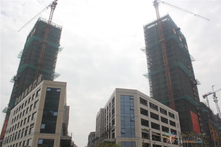 银通国际广场:4月12日一期封顶大吉