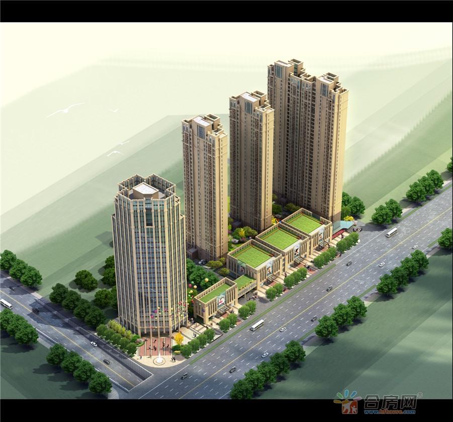 新世界·市中心楼号图