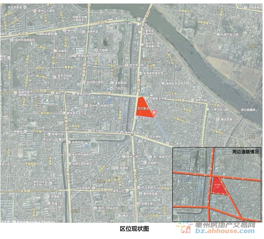 古井城市广场交通图