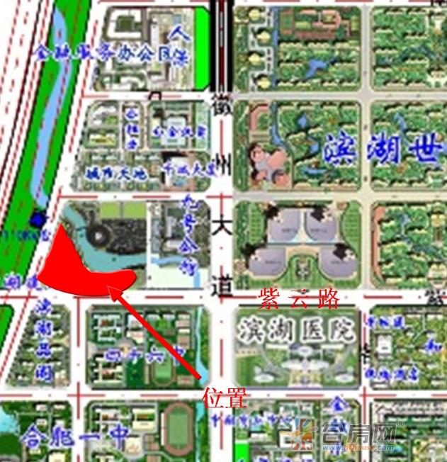 滨投滨湖BH2016-03号地块交通图
