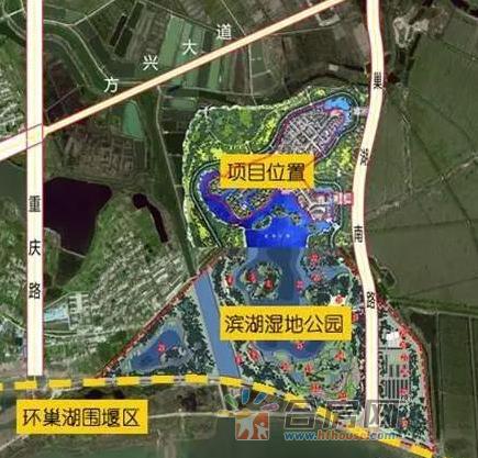 滨投滨湖BH2016-06号地块交通图
