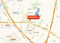 景枫城市山谷交通图
