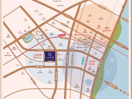 江铃时代城交通图