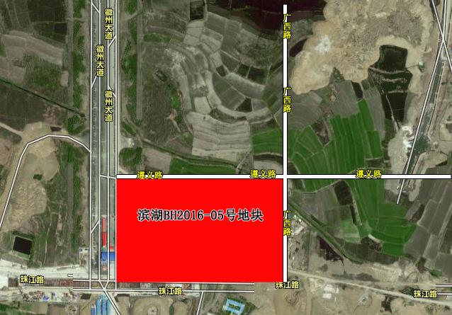 滨湖建设滨湖BH2016-05号地交通图