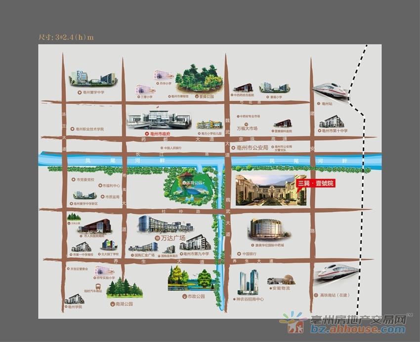 三巽壹號院交通图
