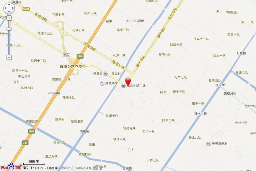 东滩豫翠苑交通图