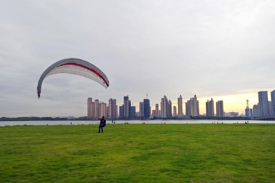 时过,境迁 这是蚌埠滨湖新区现在的样子