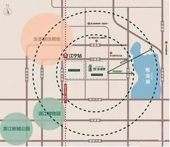 禹洲弘阳滨湖里交通图