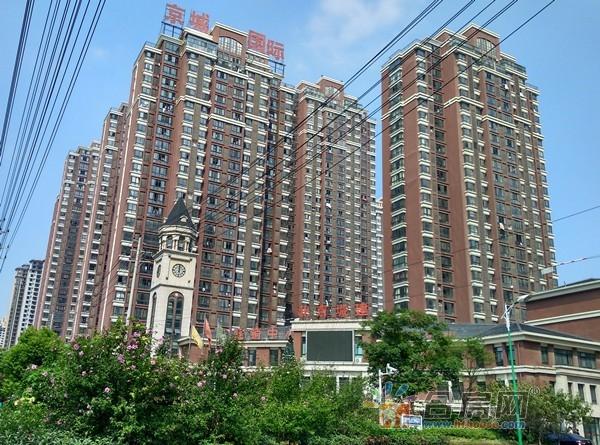 北京城建京城国际楼号图