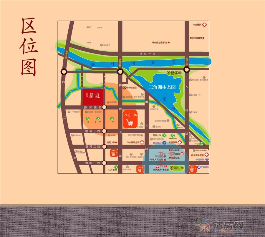 金皖·御璟蘭庭交通图