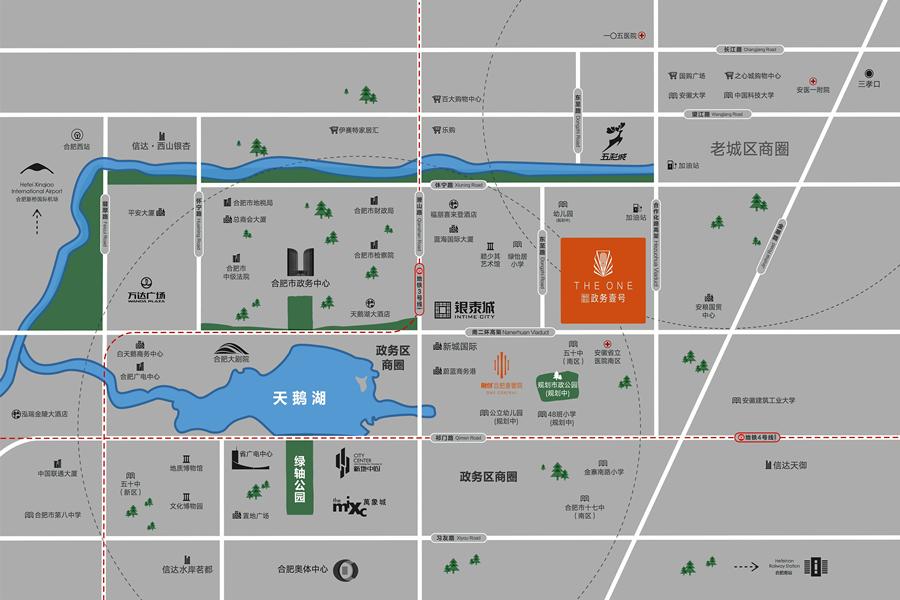 融创信达·政务壹号交通图