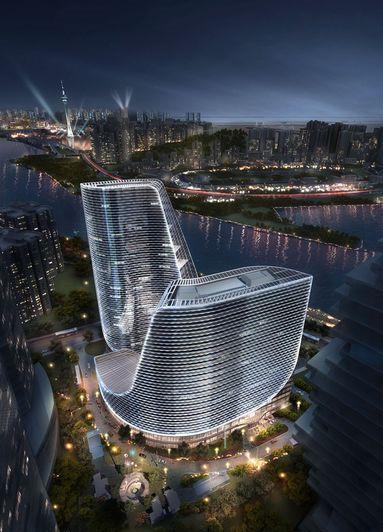 中國華融大廈效果图