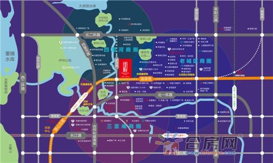 朗峰交通图