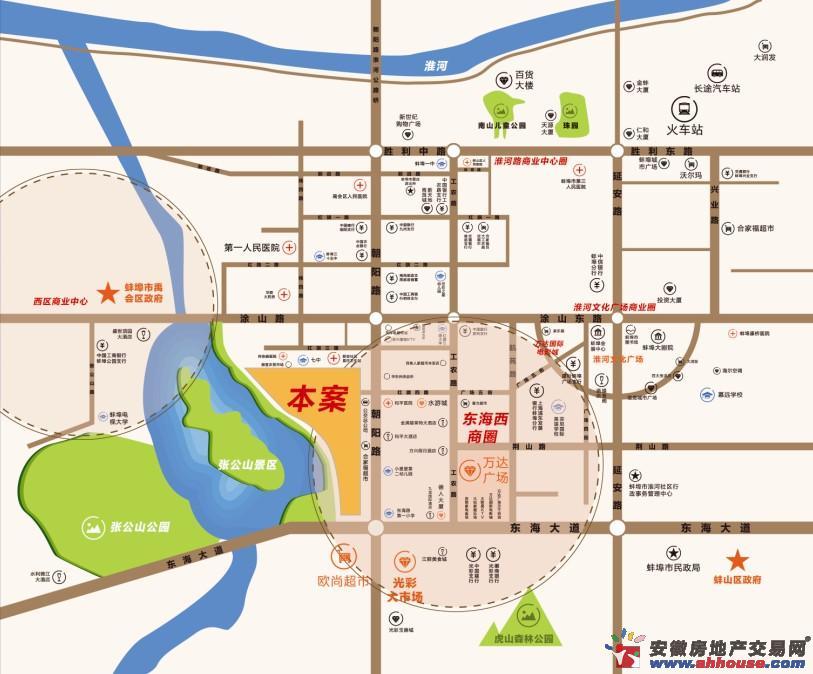 观澜·花园道交通图