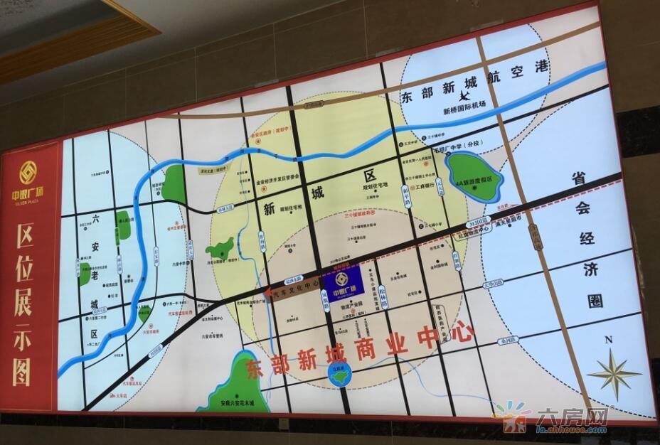中银广场交通图