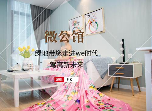 安庆绿地微公馆 带你走进we时代 驾寓新未来