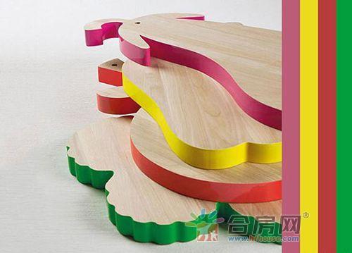 蔬菜形狀的創意切菜板