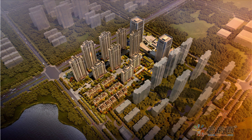 和昌中央悦府:89平三口之家全能住宅