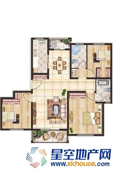 新城尚品_3室2厅2卫1厨