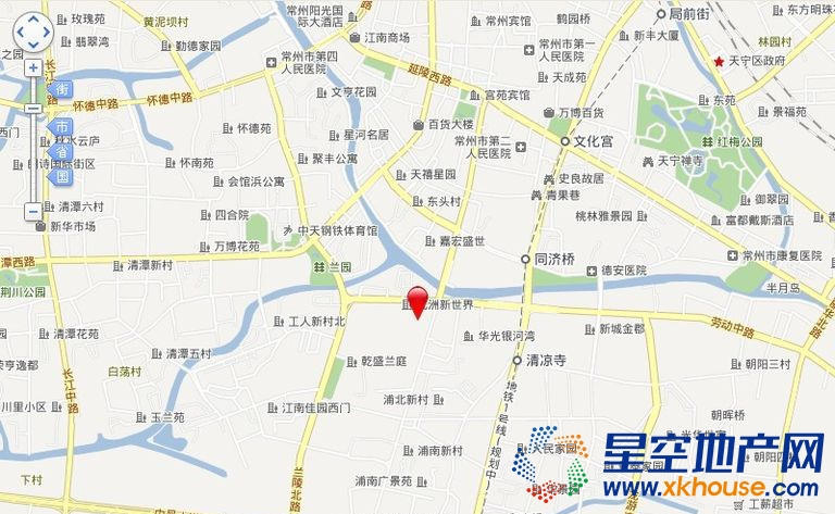 九洲新世界·君玺交通图