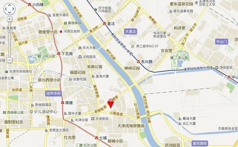渤海明珠交通图