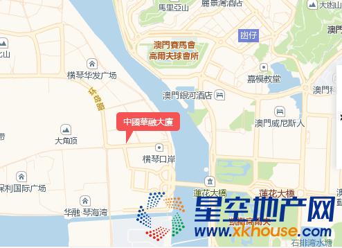 中國華融大廈交通图