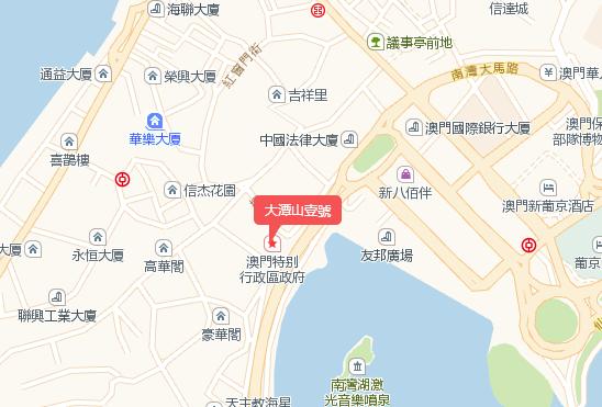 大潭山壹號交通图