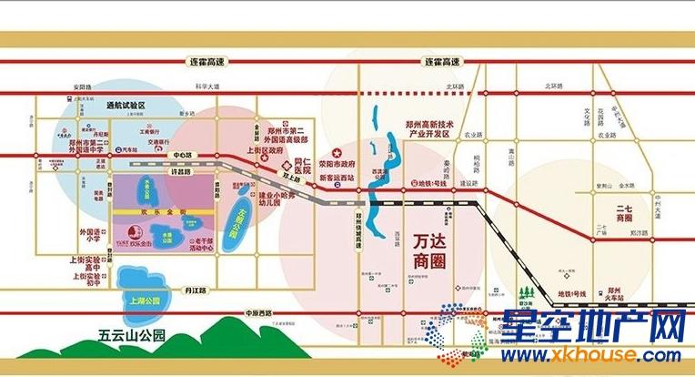 嘉韵公园里交通图