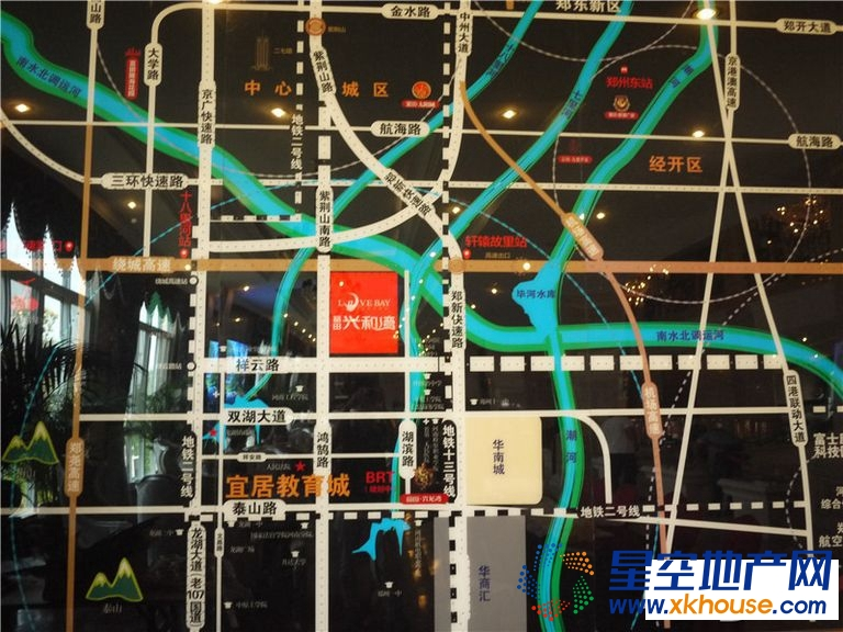 富田兴和湾交通图