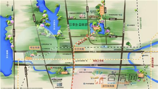 华地森林湖交通图