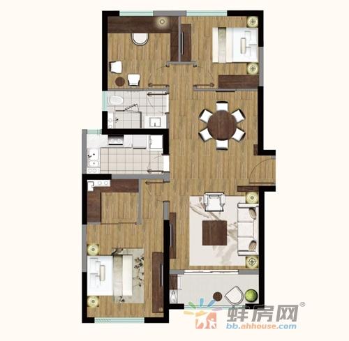 帝景珑湾_3室2厅2卫1厨