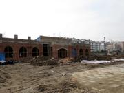 恒福·新城3月工程进度:营销中心紧张建设