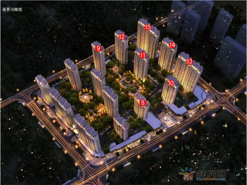 禹洲新城里楼号图