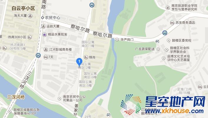 中海桃源里交通图