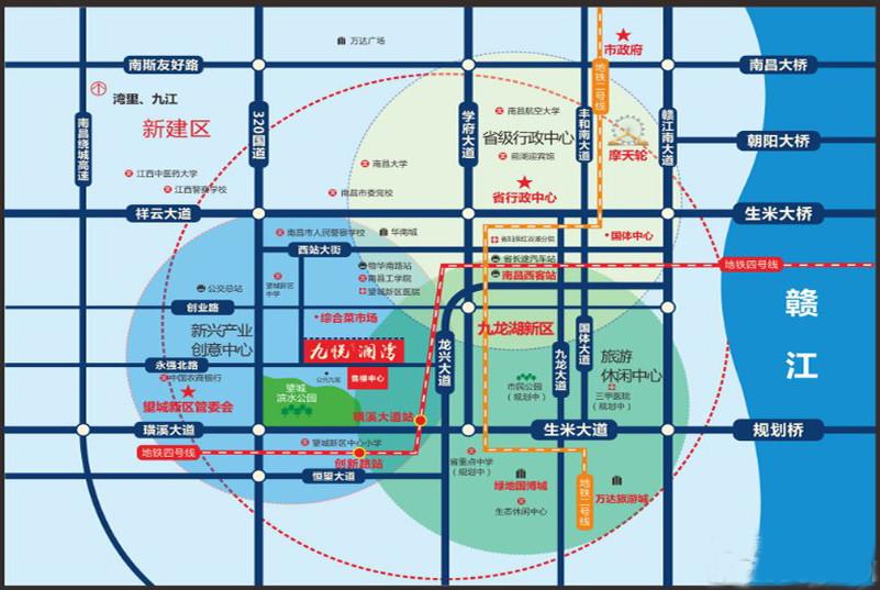 九悦澜湾交通图