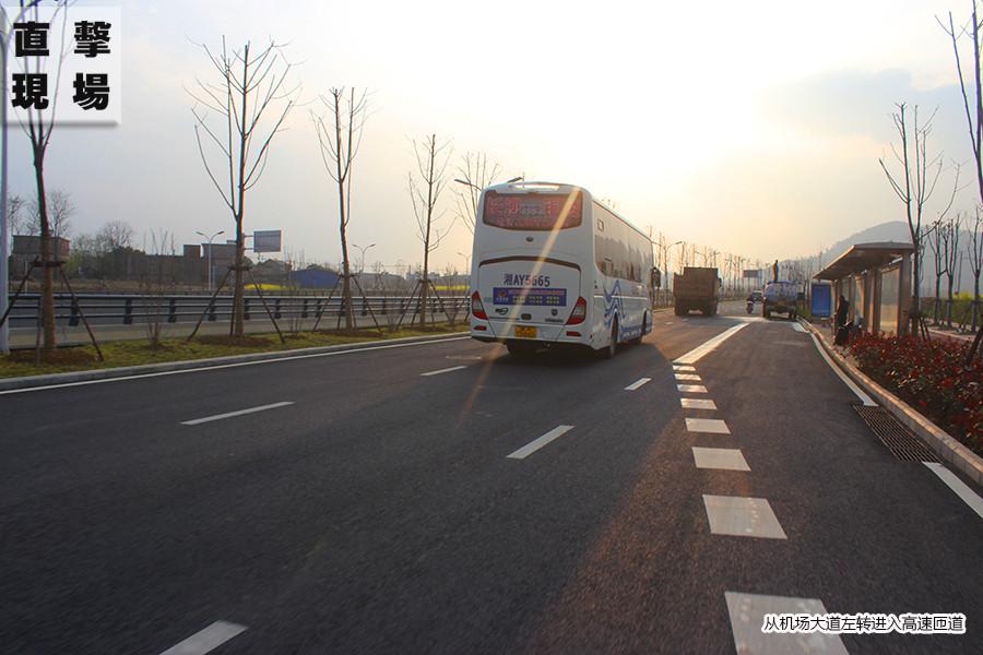 安庆新收费站路线指示图