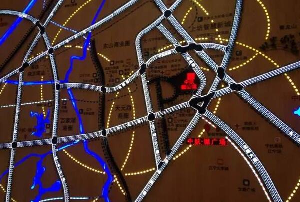 中航樾广场交通图