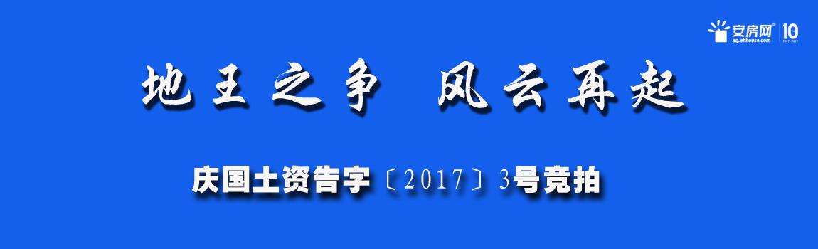 直播实录:庆国土资告字〔2017〕3号竞拍