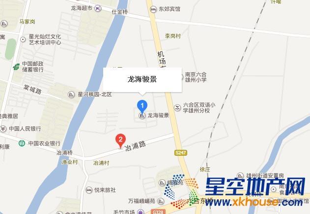 龙海骏景交通图
