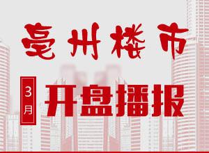 亳州4月预计6家项目开盘