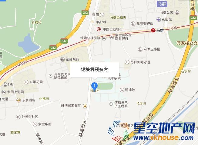 银城君颐东方交通图