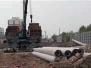 恒福新城4月进度:售楼部装修中 工地已开工