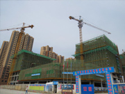 恒丰城东新城4月工程进度:12#建至地面11层