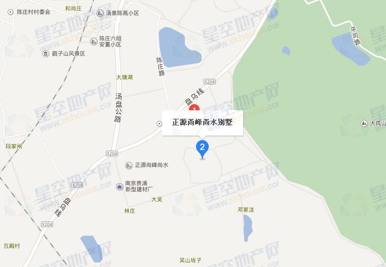 正源尚峰尚水交通图