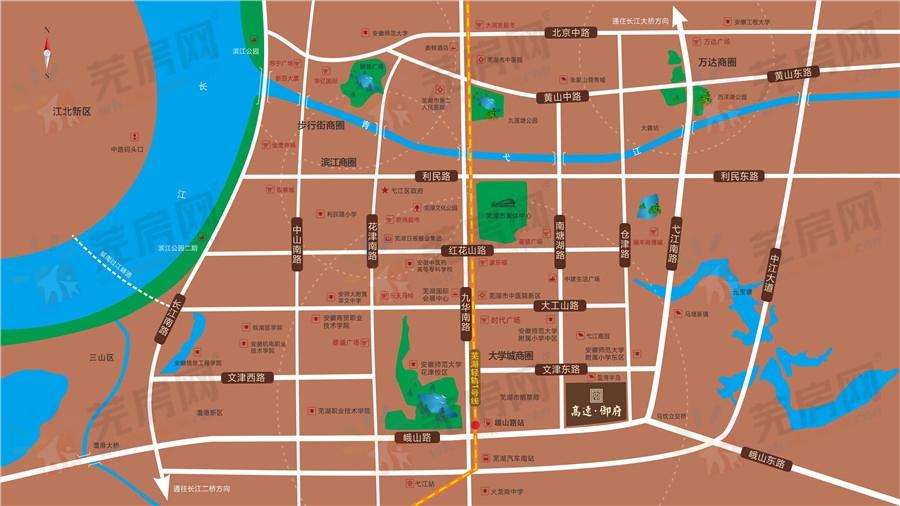 高速御府交通图