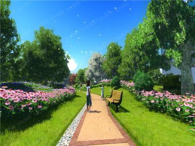 """打造""""城市之肺""""绿化好房子"""